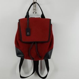 Etienne Aigner Bags - Etienne Aigner Wool Backpack Purse